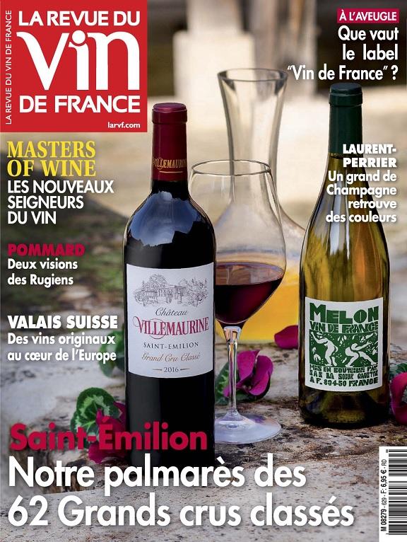 La Revue Du Vin De France N°629 – Mars 2019
