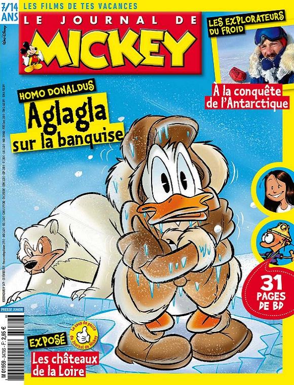 Le Journal De Mickey N°3479 Du 20 Février 2019