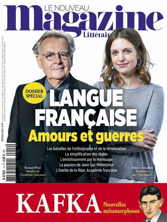 Le Nouveau Magazine Littéraire N°14 – Février 2019