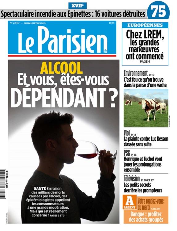 Le Parisien Du Mardi 26 Février 2019