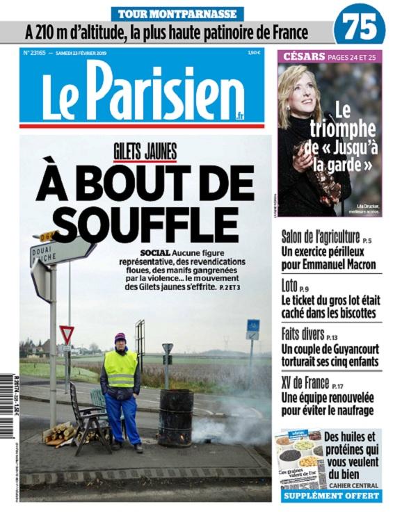 Le Parisien Du Samedi 23 Février 2019