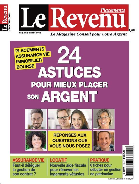 Le Revenu Placements N°259 – Mars 2019