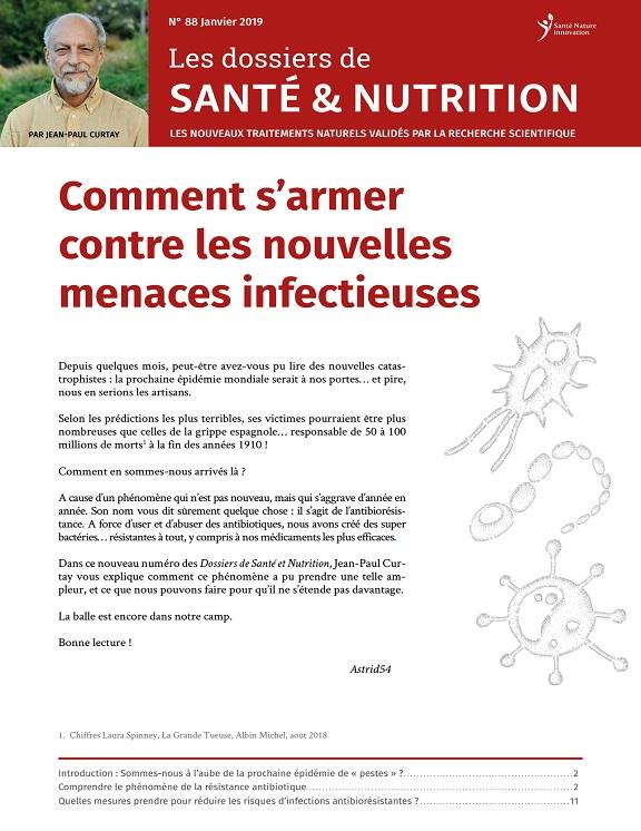 Les Dossiers de Santé et Nutrition N°88 - Janvier 2019