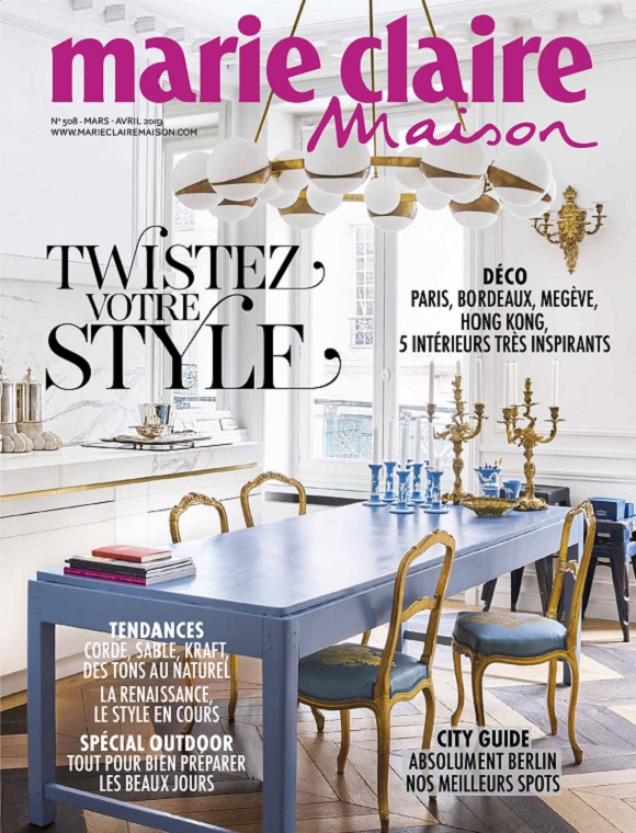 Marie Claire Maison N°508 – Mars-Avril 2019