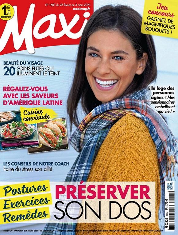 Maxi N°1687 Du 25 Février 2019