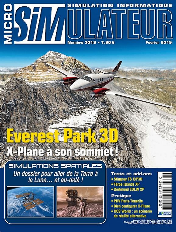 Micro Simulateur N°301 – Février 2019