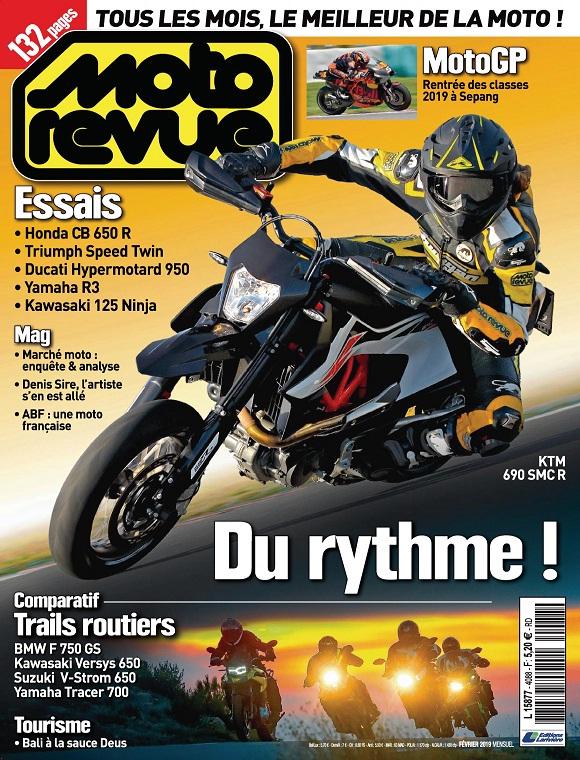 Moto Revue N°4088 – Février 2019