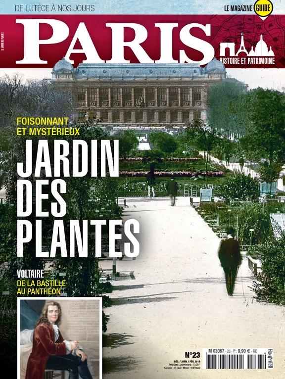 Paris De Lutèce à Nos Jours N°23 – Décembre 2018-Février 2019