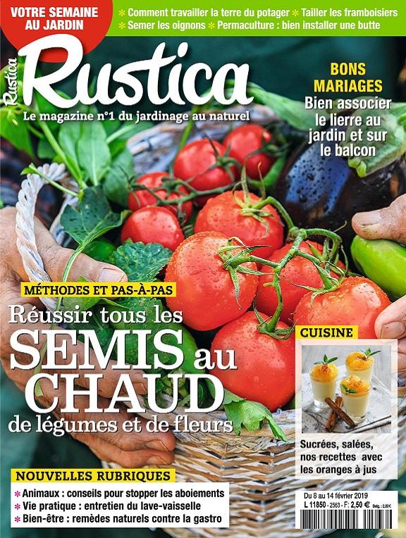 Rustica N°2563 Du 8 au 14 Février 2019