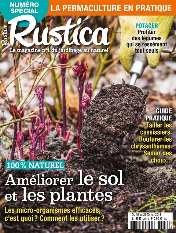 Rustica N°2564 Du 15 au 21 Février 2019