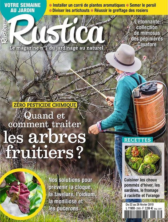 Rustica N°2565 Du 22 au 28 Février 2019