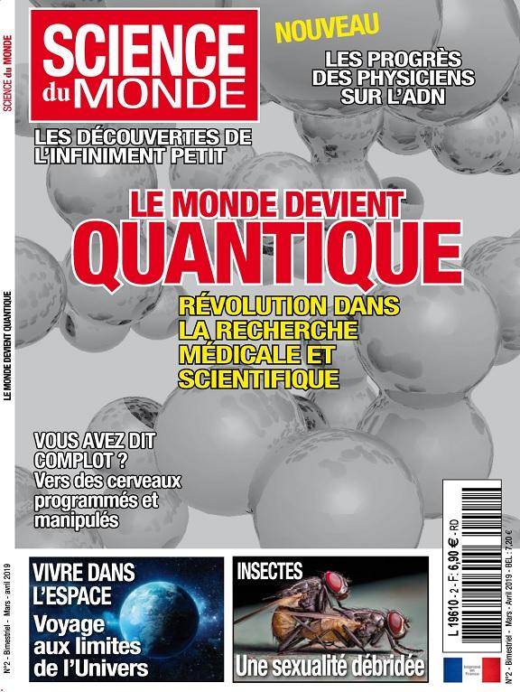 Science Du Monde N°2 – Mars-Avril 2019