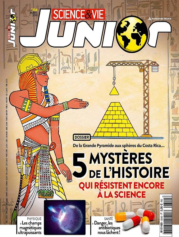 Science et Vie Junior N°354 – Mars 2019