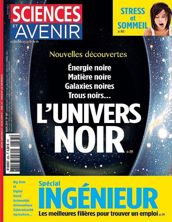 Sciences et Avenir N°865 – Mars 2019
