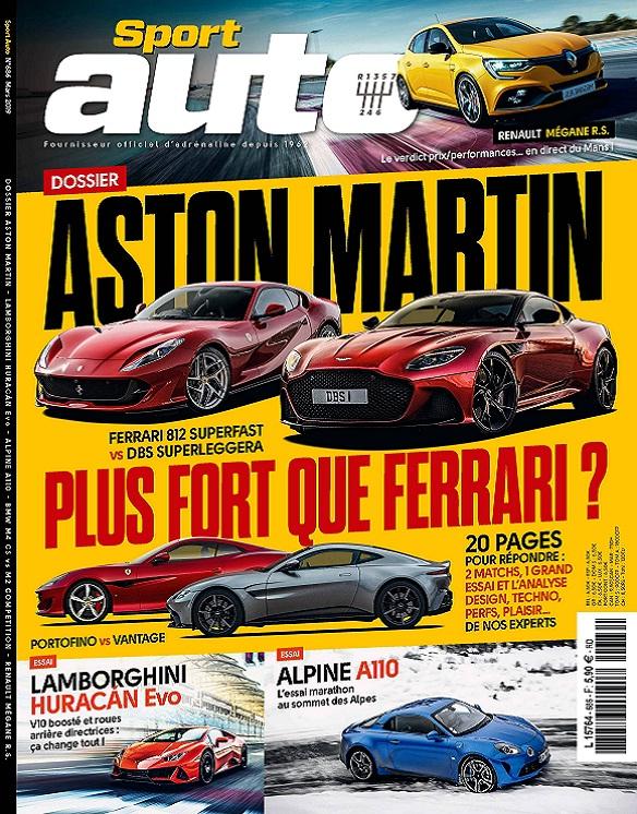 Sport Auto N°686 – Mars 2019