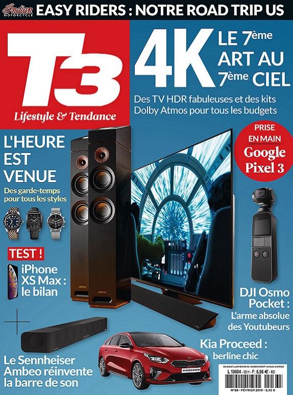 T3 Gadget Magazine N°33 – Février 2019