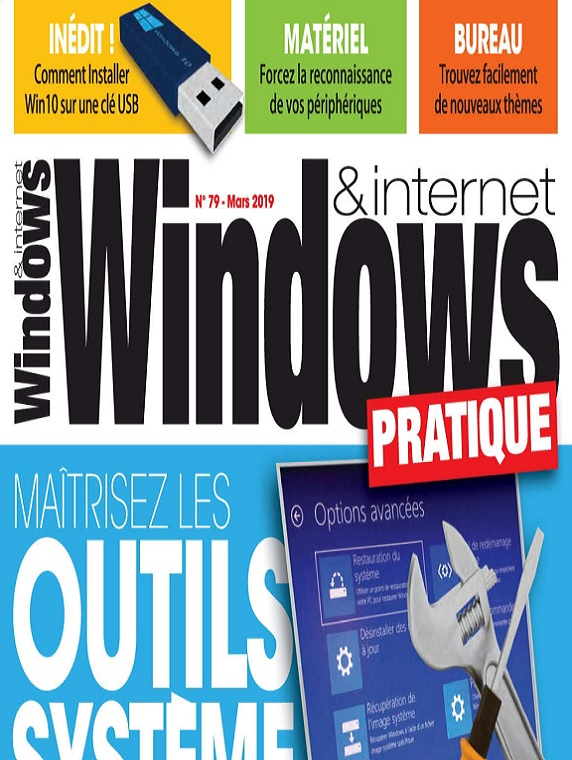Windows et Internet Pratique N°79 – Mars 2019