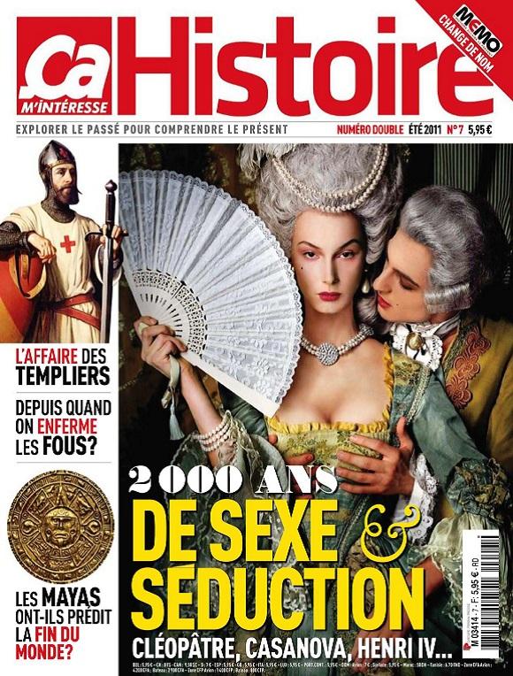 Ça M'intéresse Histoire N°7 – 2000 ans de Sexe et Séduction