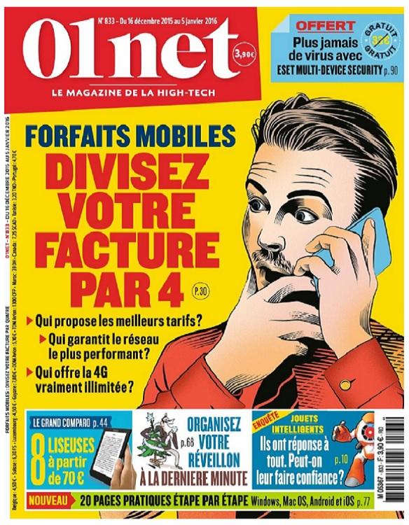 01Net N°833 – Forfaits Mobiles