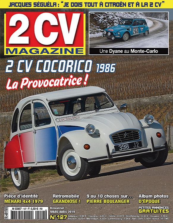 2CV Magazine N°127 – Mars-Avril 2019