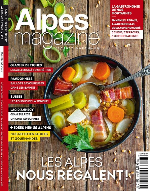 Alpes Magazine N°175 – Février-Mars 2019