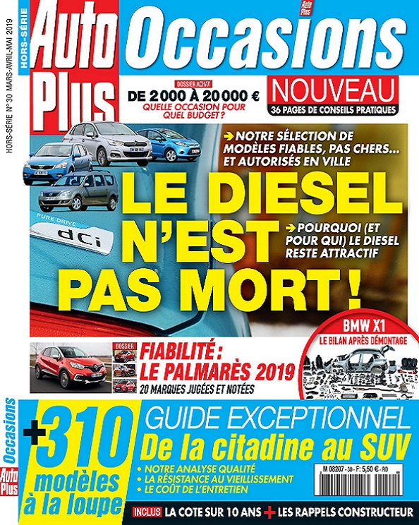 Auto Plus Hors Série Occasions N°30 – Mars-Mai 2019