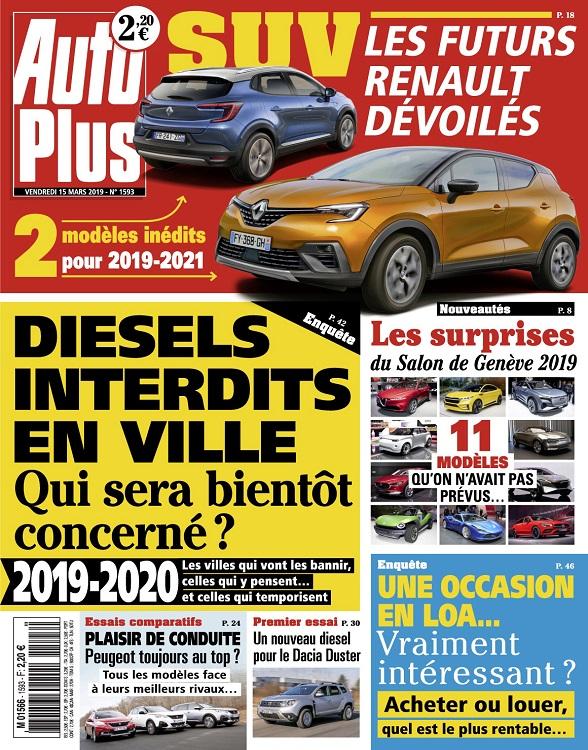 Auto Plus N°1593 Du 15 Mars 2019