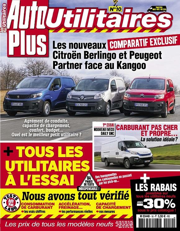 Auto Plus Utilitaires N°10 – Mars-Mai 2019