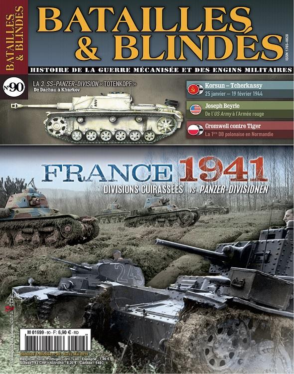 Batailles et Blindés N°90 – Avril-Mai 2019