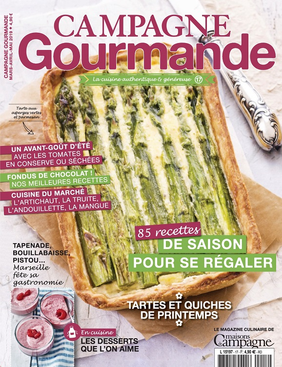 Campagne Gourmande N°17 – Mars-Mai 2019