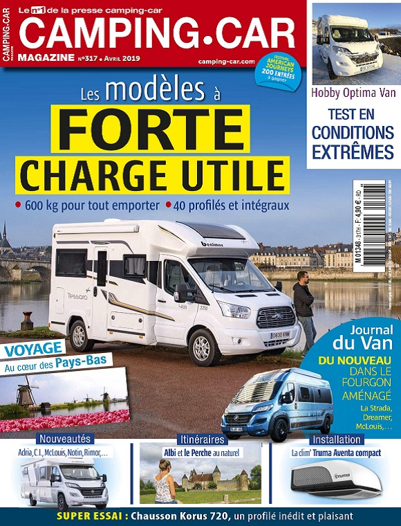 Camping-Car Magazine N°317 – Avril 2019