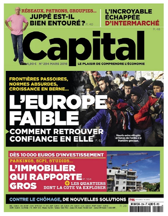 Capital N°294 – L'Europe Faible