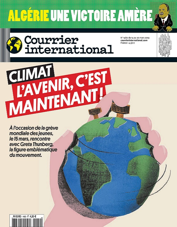 Courrier International N°1480 Du 14 au 20 Mars 2019