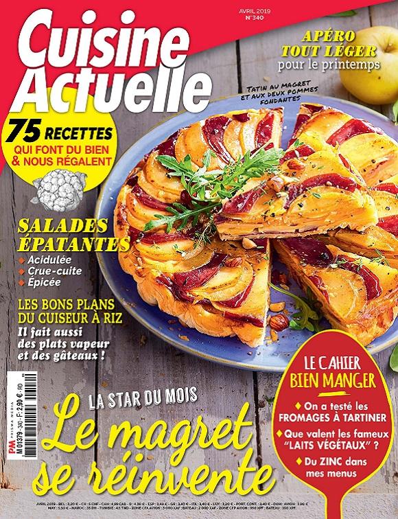 Cuisine Actuelle N°340 – Avril 2019