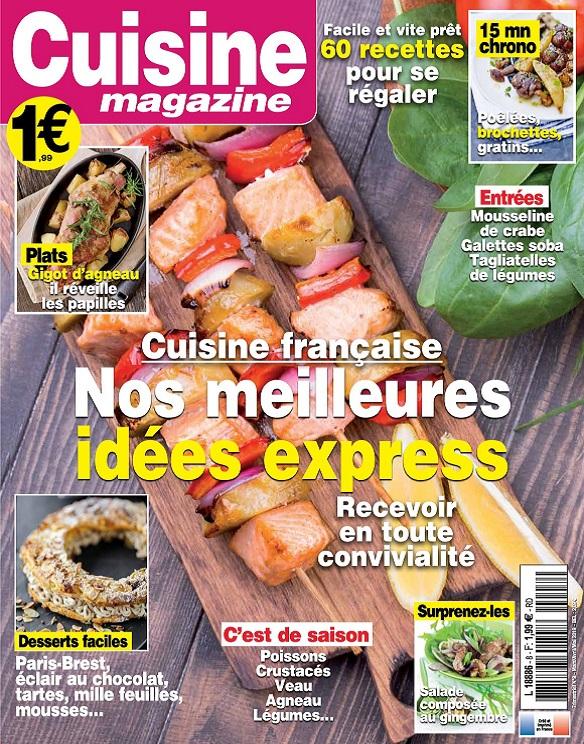 Cuisine Magazine N°8 – Mars-Mai 2019