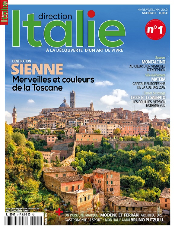 Direction Italie N°1 – Mars-Mai 2019