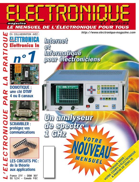 Electronique et Loisirs Magazine N°1 – Juin 1999