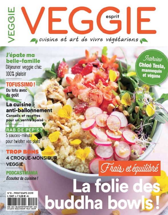 Esprit Veggie N°8 – Printemps 2019
