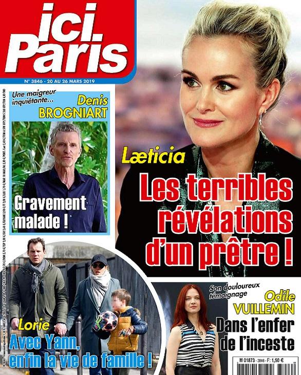 Ici Paris N°3846 Du 20 au 26 Mars 2019