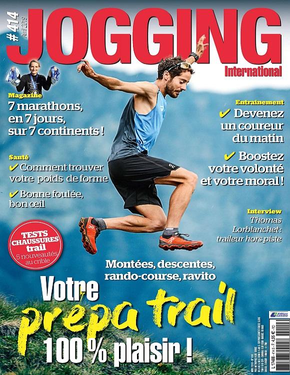 Jogging International N°414 – Avril 2019