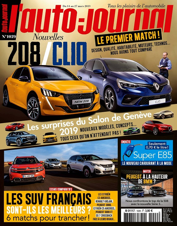 L'Auto-Journal N°1029 Du 14 au 27 Mars 2019