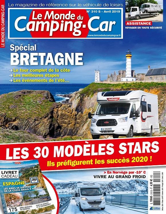 Le Monde Du Camping-Car N°310 – Avril 2019