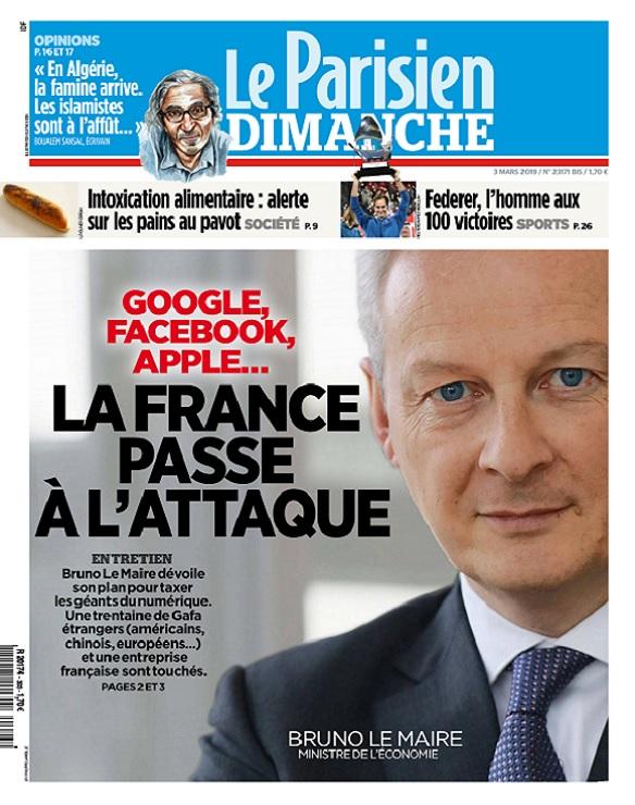 Le Parisien Du Dimanche 3 Mars 2019