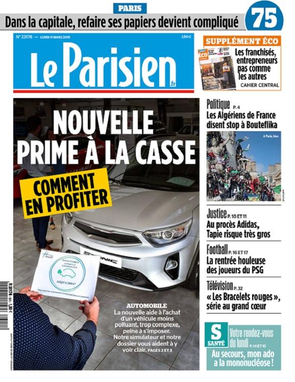 Le Parisien Du Lundi 11 Mars 2019