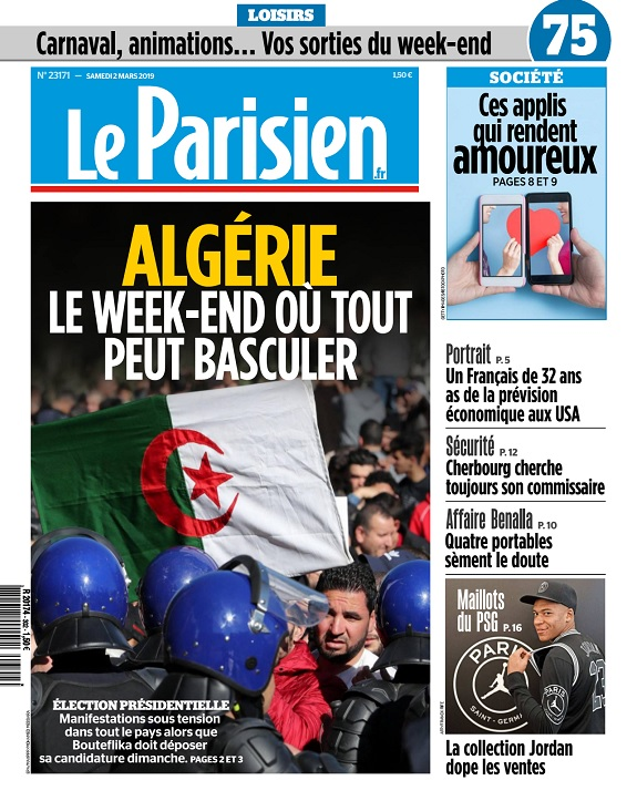 Le Parisien Du Samedi 2 Mars 2019