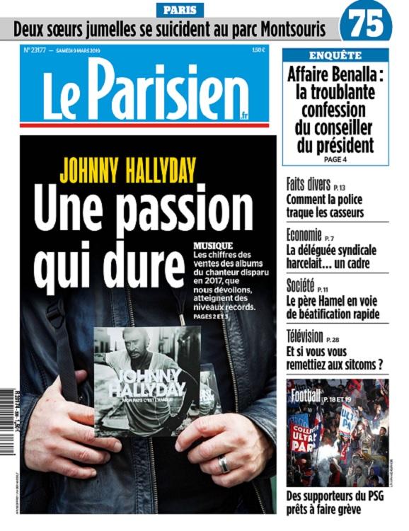 Le Parisien Du Samedi 9 Mars 2019