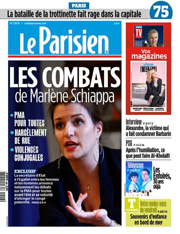 Le Parisien Du Vendredi 8 Mars 2019