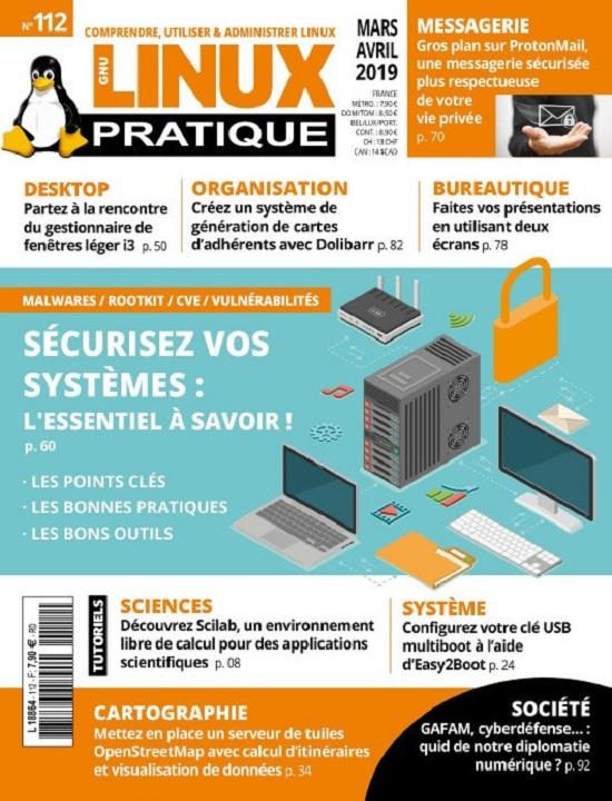 Linux Pratique N°112 – Mars-Avril 2019