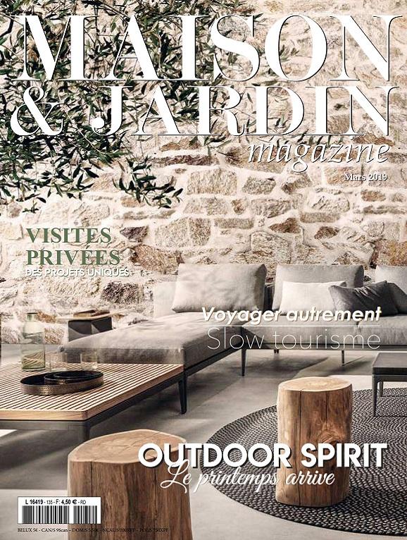 Maison et Jardin Magazine N°135 – Mars 2019