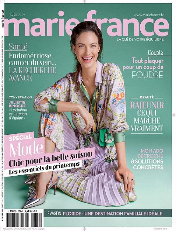 Marie France N°279 – Avril 2019